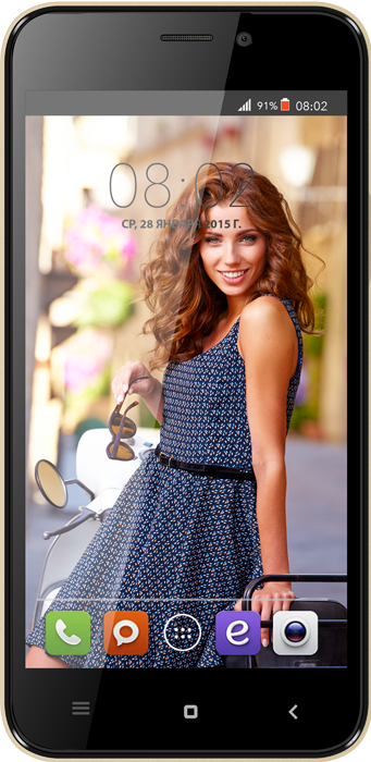 Мобильный телефон BQ BQS-5007 Rimini Black Grey