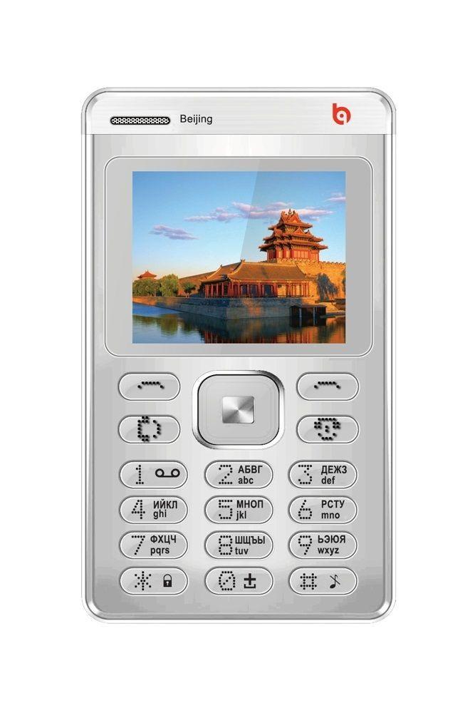 Мобильный телефон BQ BQM-1404 Beijing Silver