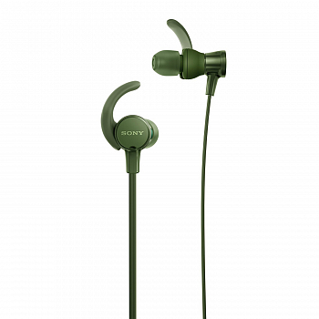 Наушники Sony MDR-XB510AS Sport extra bass Green